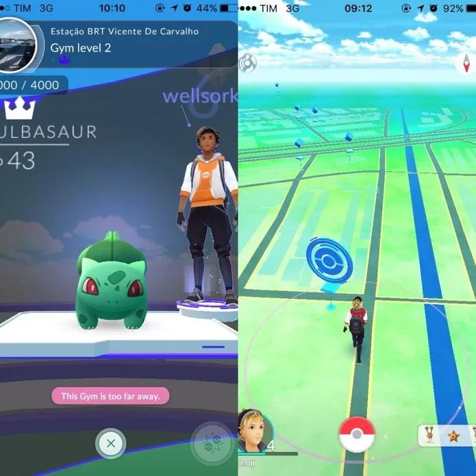 Pokémon Go: saiba ganhar experiênca rápido (Foto: Reprodução/Felipe Vinha)