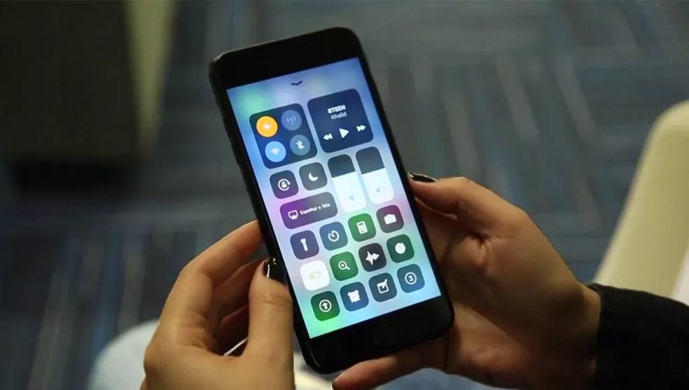 iOS 11 tem bug que impede a digitação de um caractere (Foto: João Gabriel Balbi/TechTudo)