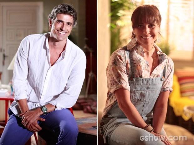 Pela quinta vez na carreira, Gianecchini fará par romântico com Antonelli (Foto: Carol Caminha/Pecro Curi/TV Globo)