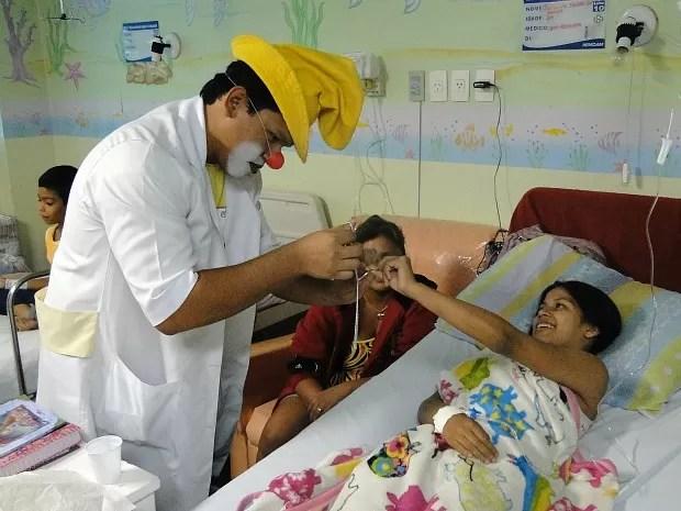 Resultado de imagem para visita a crianças em hospitais