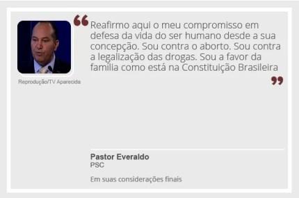 Pastor Everaldo (Foto: Arte/G1)