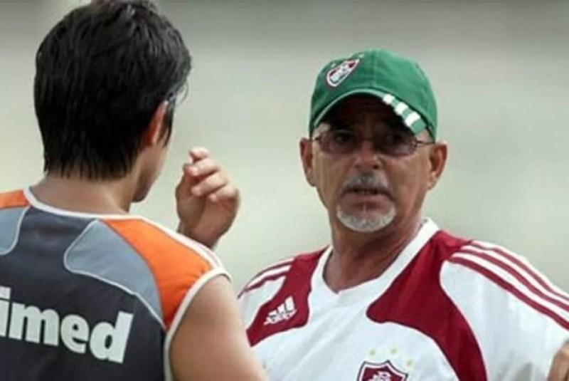 Gilson Gênio no Fluminense (Foto: Divulgação)
