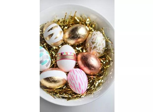9-decoracao-ovos-de-pascoa-pinterest-brilho-desenho-etnico (Foto: Pinterest)