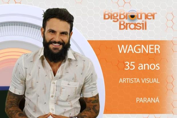 Wagner é um artista visual que participará do 'BBB18' (Foto: Divulgação)