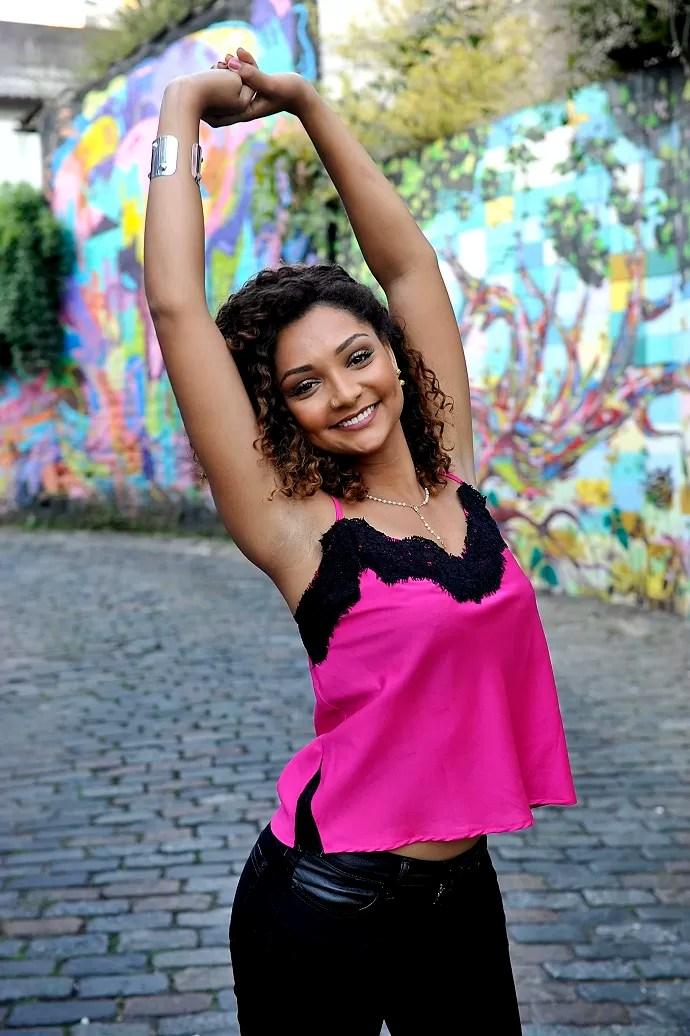 Francielle Pimenta (Foto: Reinaldo Marques)