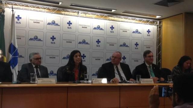 Dados inéditos sobre pessoas que tiraram a própria vida no Brasil foram apresentados em coletiva nesta quinta-feira (21) (Foto: Bianca Marinho/G1)