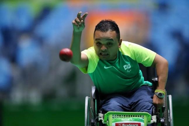 Maciel Santos busca a terceira medalha paralímpica — Foto: CPB
