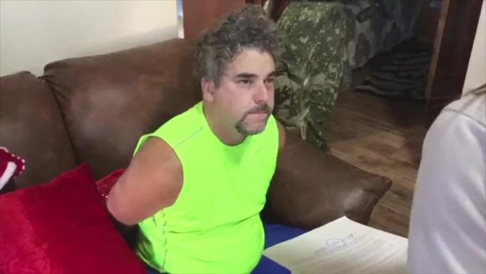 Marcelo Piloto foi preso no Paraguai em dezembro de 2017; segundo a polícia, ele vivia no país vizinho desde 2012 — Foto: Reprodução/TV Globo