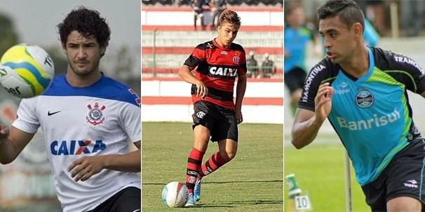 Corinthians, Flamengo e Grêmio jogam neste domingo em partidas pelos campeonatos Paulista, Carioca e Gaúcho (Foto: globoesporte.com)