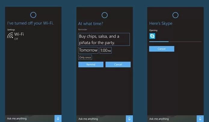 Cortana será ainda mais funcional no Windows 10 (Foto: Reprodução / microsoft-news)