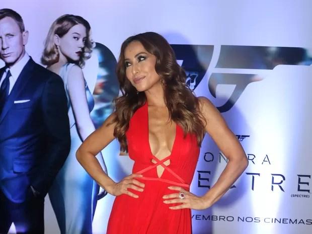 Sabrina Sato em première de filme em São Paulo (Foto: Thiago Duran/ Ag. News)