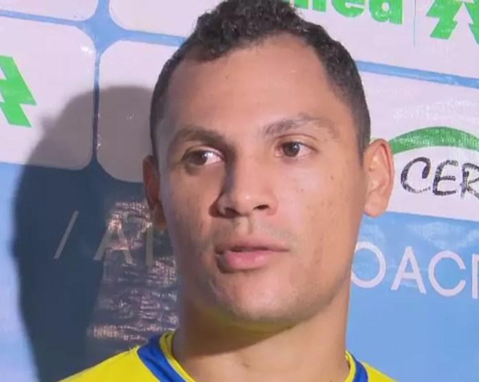 Ruan é o goleiro titular do Atlético-AC na Série C — Foto: Reprodução/Rede Amazônica Acre