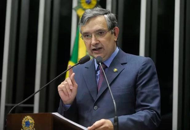 O senador Eduardo Amorim (PSC-SE) (Foto: Moreira Mariz / Agência Senado)