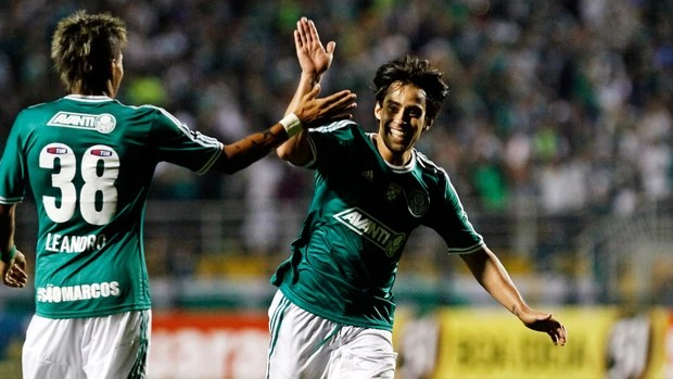 Valdivia, Palmeiras x Bragantino (Foto: Léo Pinheiro/Agência Estado)