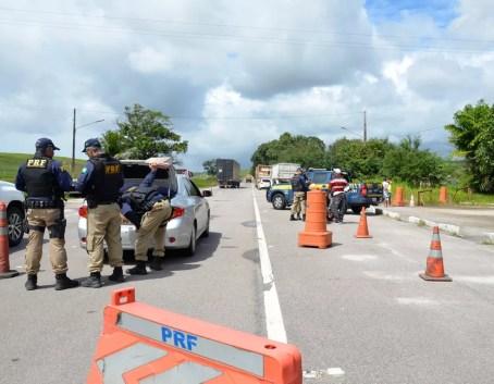 Ações de fiscalização da Polícia Rodoviária Federal fazem parte da Operação Integrada Rodovia (Foto: PRF/Divulgação)