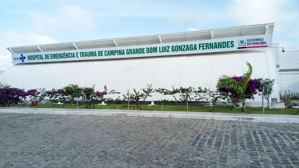 PM ainda foi socorrido para o Hospital de Trauma de Campina Grande, mas não resistiu aos ferimentos — Foto: João da Paz/Ascom Trauma de Campina Grande
