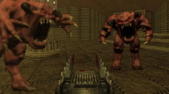 Doom 64 teve seus gráficos redesenhados para aproveitar o poder extra do Nintendo 64 (Foto: Reprodução/Taringa)