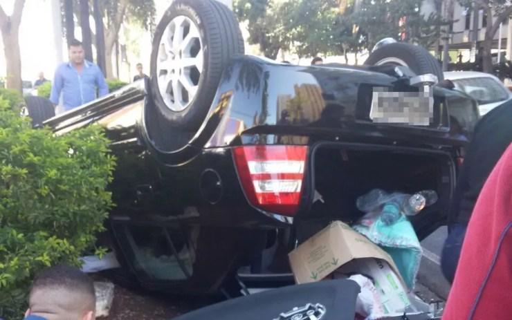 Segundo a polícia, ninguém ficou ferido (Foto: Arquivo Pessoal)