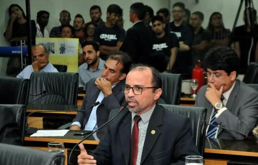 Sandro Pimentel (PSOL) é vereador em Natal e assumirá a vaga na Assembleia Legislativa do Estado — Foto: Elpídio Júnior/Assessoria de Comunicação