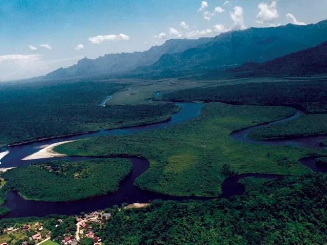 Estação Ecológica Jureia Itatins, em Peruíbe (Foto: Divulgação/Prefeitura de Peruíbe)