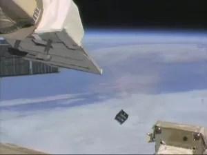 A Agência Espacial Brasileira (AEB) investiu R$ 250 mil no desenvolvimento do satélite. (Foto: Divulgação/ITA)