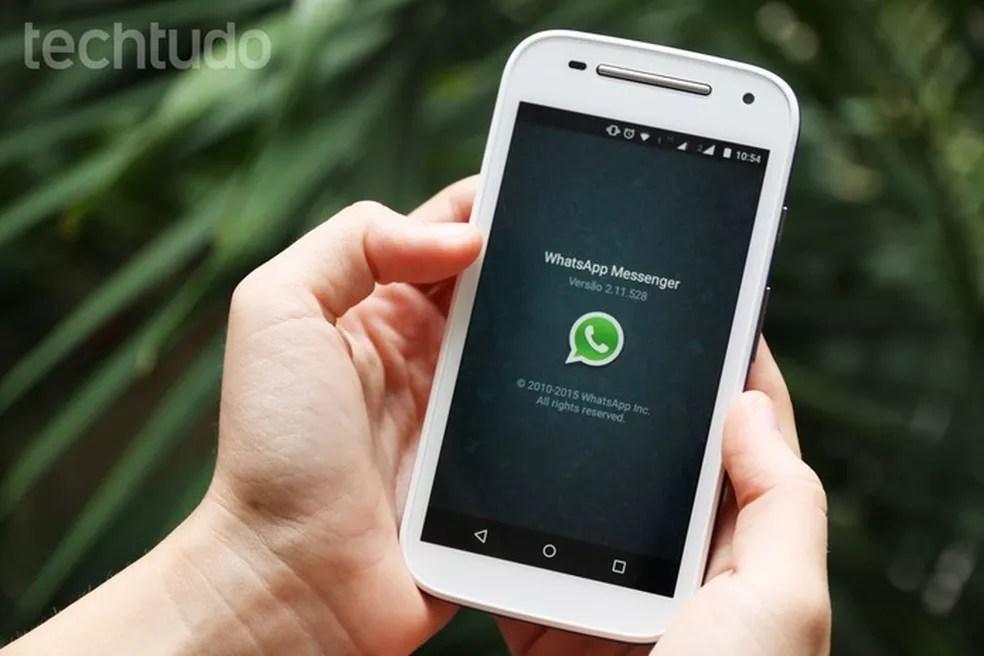 Saiba como ter mais espaço no celular apagando arquivos do WhatsApp — Foto: Anna Kellen Bull/TechTudo