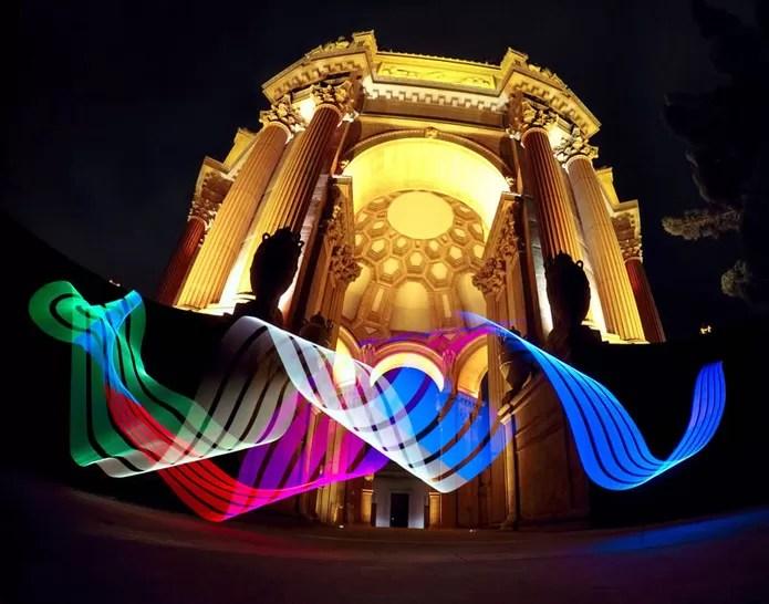 Crie light painting com a GoPro e tenha imagens incríveis (Foto: Reprodução/GoPro)