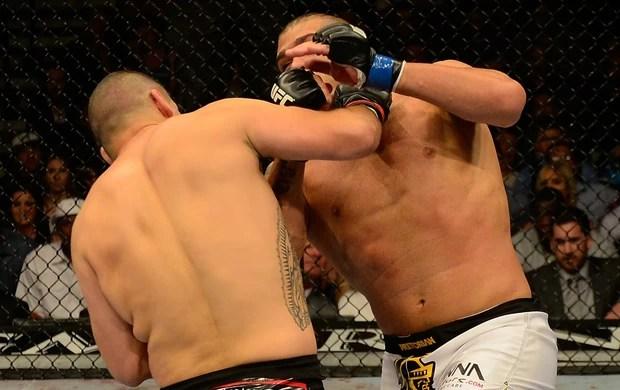 Cain Velásquez e Antonio Pezão UFC 160 (Foto: Getty Images)