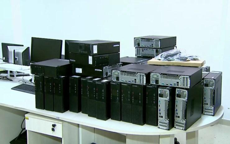 Ataque de hackers afetou 1 mil computadores do Hospital de Câncer de Barretos (Foto: Reprodução/EPTV)