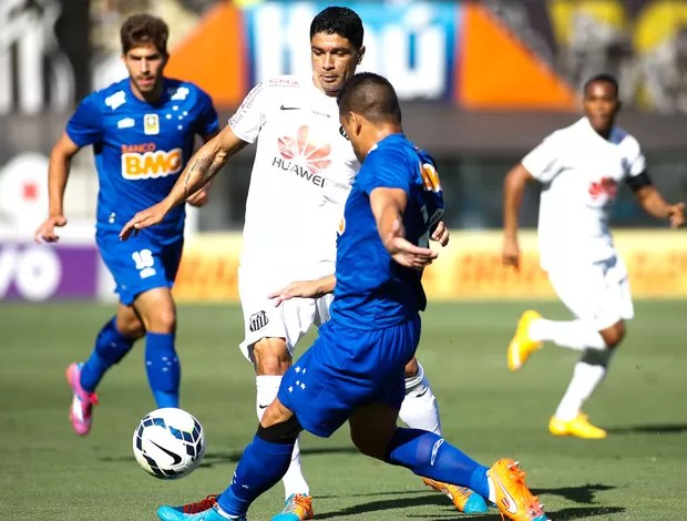 Renato. Santos X Cruzeiro (Foto: Getty Images)