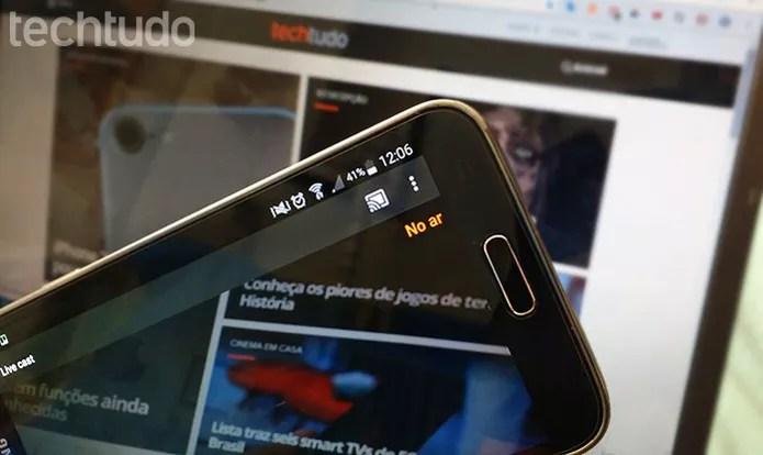 Veja como fazer streaming da câmera do celular para a TV usando um Chromecast  (Foto: Barbara Mannara/TechTudo)