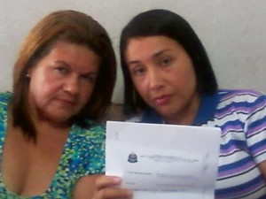 Mãe e filha buscam resposta de hospital (Foto: Arquivo Pessoal /Denise Correa)