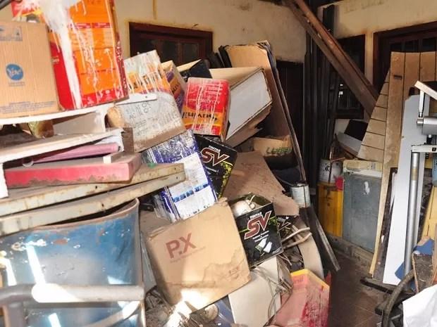 Bom Despacho, lixo, acumuladores,  (Foto: Assessoria/Divulgação)
