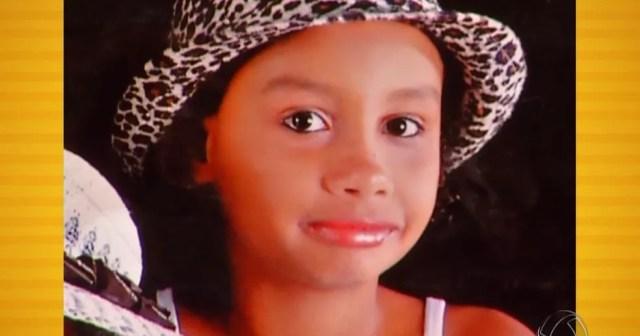 Andrelina Lima Marques, de 10 anos, desapareceu em outubro de 2011 em Nova Olímpia — Foto: TV Centro América