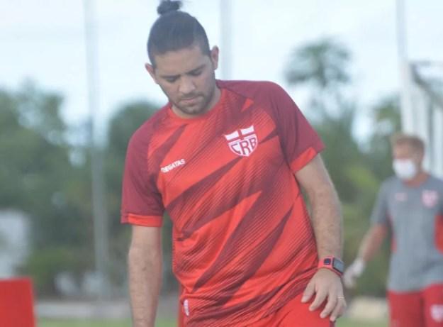 Diego Torres já treinou no Ninho do Galo — Foto: Gustavo Henrique/Ascom CRB