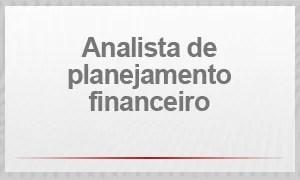 Analista de planejamento financeiro (Foto: G1)