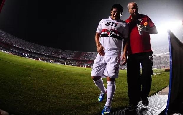 Aloisio, São Paulo x Atlético-MG (Foto: Marcos Ribolli)