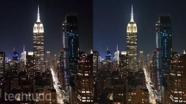 Comparativo de foto no Galaxy Note 8 e Galaxy Note 9 (Foto: Thássius Veloso/TechTudo)
