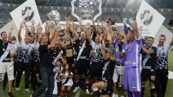 Vasco é campeão da Taça Guanabara