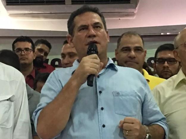 Maurão de Carvalho disputará o governo de RO pelo MDB (Foto: Mayara Subtil/G1)