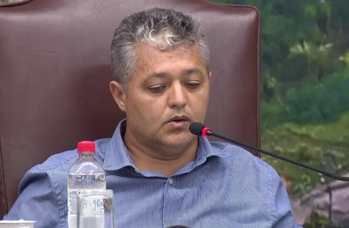 Sidnei Francisquinho foi um dos três vereadores que mais gastaram com diárias em Jacarezinho. — Foto: Reprodução/RPC