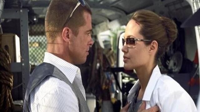 Globo exibe o filme Sr. & Sra. Smith na Sessão de Gala