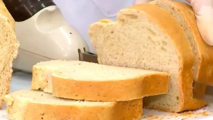 Para fazer os pães, as pesquisadoras trituraram as baratas em um moinho de bolas — Foto: Divulgação/BBC