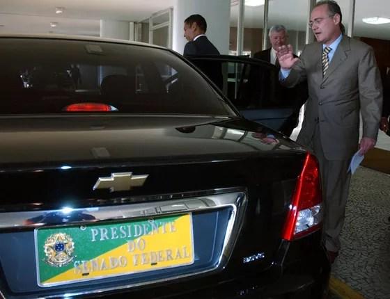 Carro utilizado pelo Presidência do Senado Federal (Foto: Fábio Rodrigues Pozzebom/ABr)