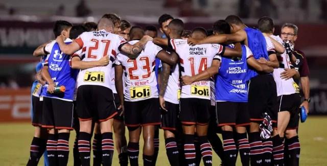 São Paulo Grupo Comemoração (Foto: André Durão)