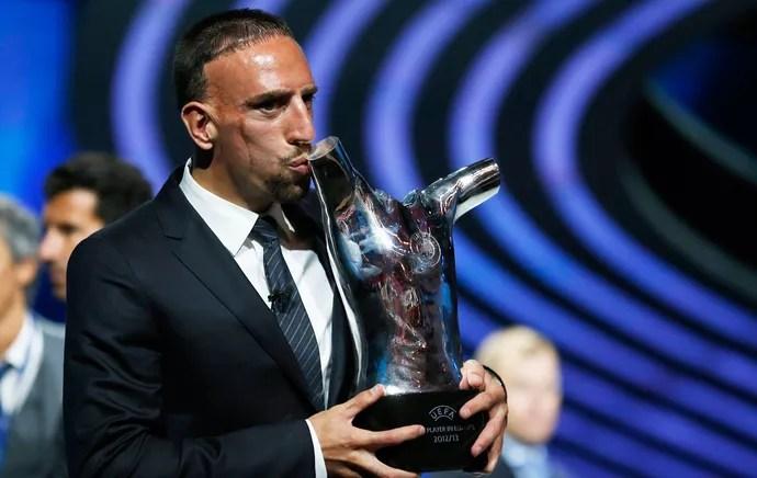 ribery bayern munique uefa prêmio (Foto: AFP)