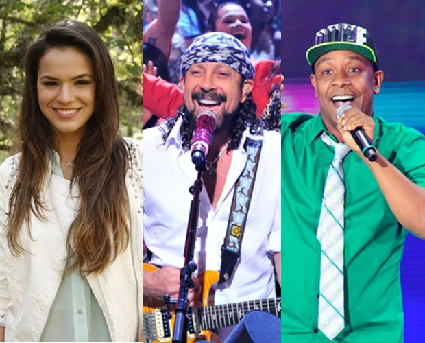 Só fera! Bruna Marquezine, Bell Marques e Psirico estarão neste Domingão (Foto: TV Globo/ Domingão)