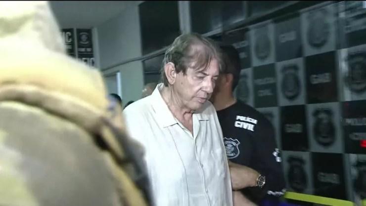 João de Deus está preso no Complexo Prisional de Aparecida de Goiânia — Foto: Reprodução/TV Globo