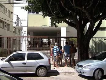 Crime ocorreu em prédio na Barra, em Salvador, Bahia (Foto: Reprodução/TV Bahia)