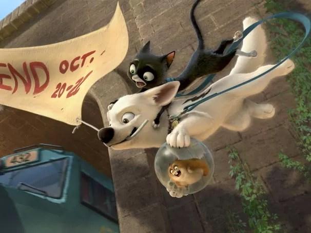 Bolt-Supercão (Foto: Divulgação / Disney)